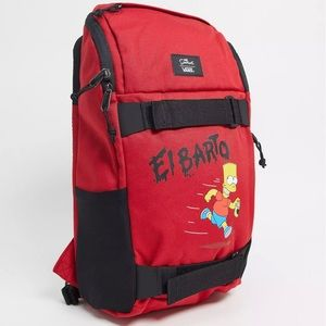 The Simpsons x Vans El Barto Obstacle Skatepack